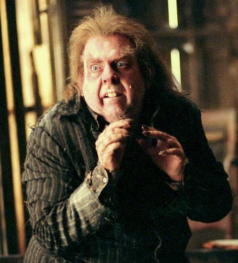 they weren't identical twins or anything, but that was my first thought: Peter Pettigrew