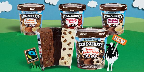 ben and jerrys core